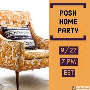 Co-HOSTING Posh {HOME} Party 9/27 @ 7pm EST